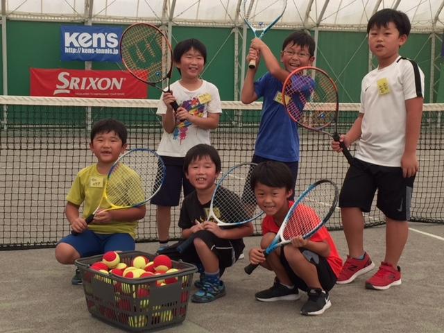 朝ジュニアテニス教室